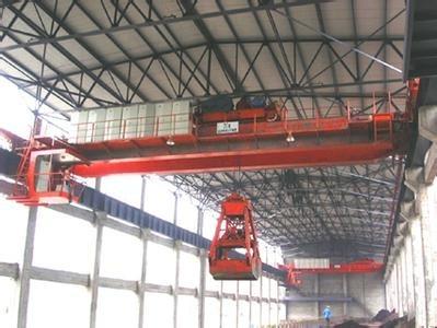 抓斗桥式起重机:本起重机适用于冶金